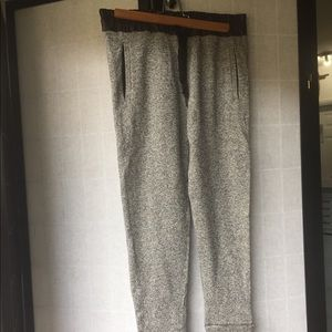 Zara W&B collection gray casual pants